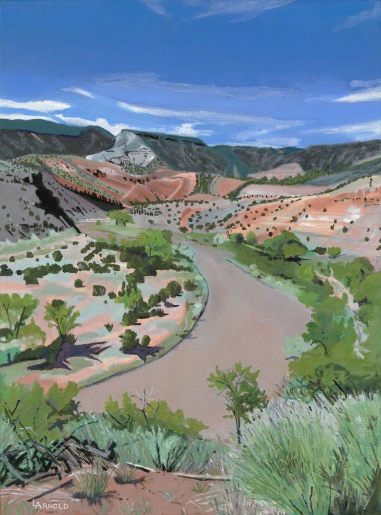 Chama River NM, 24x18