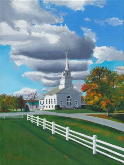 Church On The Common, 16x12