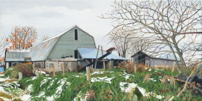 First Snow (Center Road Farm), 12x24