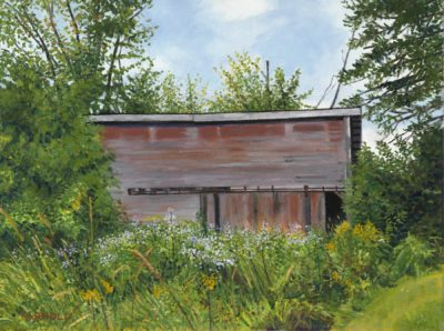 Maggie's Barn, 11x14