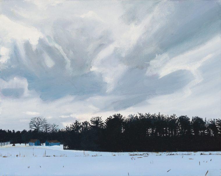 Midwinter Sky, 8 X 10