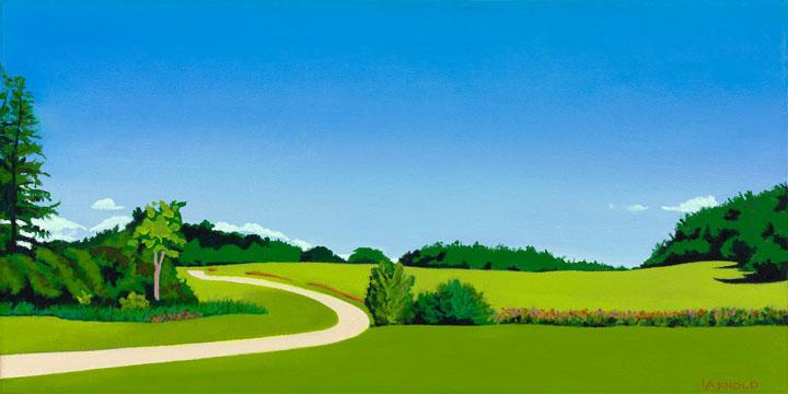 Path Through Meadow, Shelburne Farms