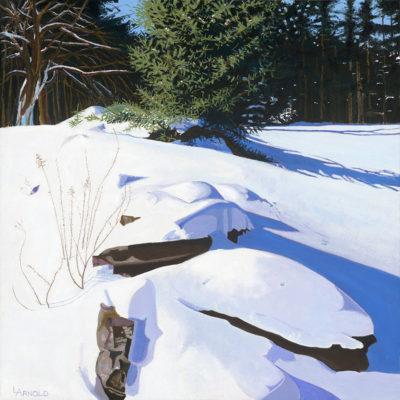 Rock Wall In Winter II, 24